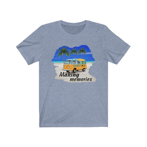 Unisex Jersey Short Sleeve Making Memories Bulli SurfBoard Surfing Surf T shirt