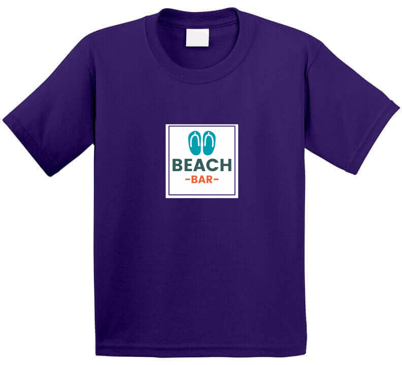 Beach Bar Sea Wave Party Surf Gift T Shirt