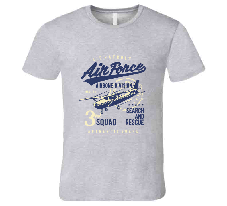 Airforce Airbone Devision Search Rescue Pilot Gift T Shirt