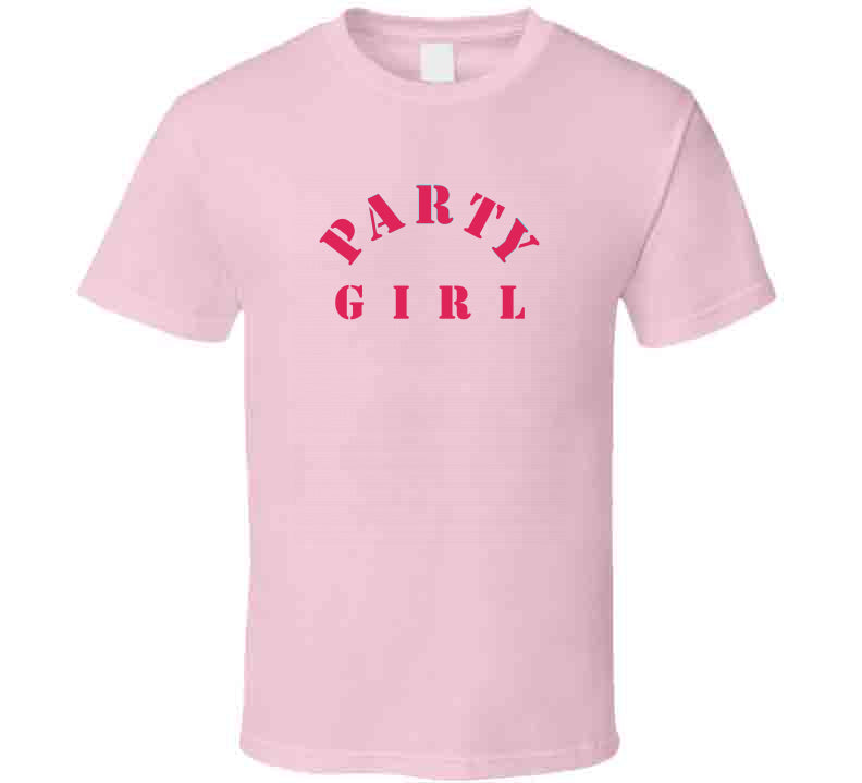 Party Girl Bachelor Ideas Game Movie Bachelors Wedding Gift T Shirt