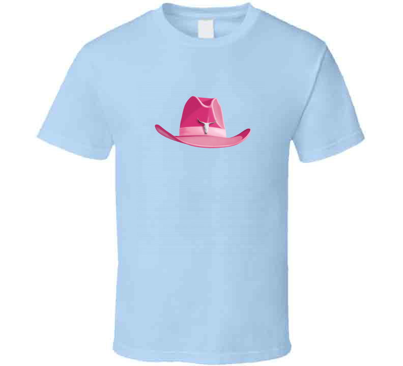 Cowgirl Hat Line Dance Western Horse Cowboy Love Fashion Gift T Shirt