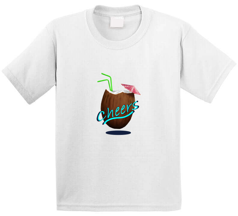 Cheers Summer Beach Holiday Surf chill T Shirt