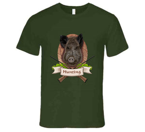Wild Boar Hunting Hunt Hunter Gift Hunt Wear Clothing T Shirt