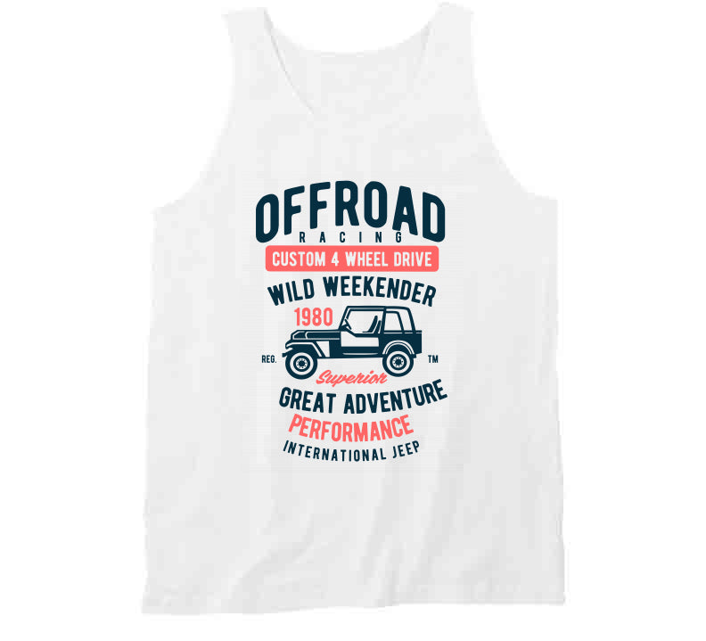 Off Road Jeep Wild Adventure Vintage Gift T Shirt