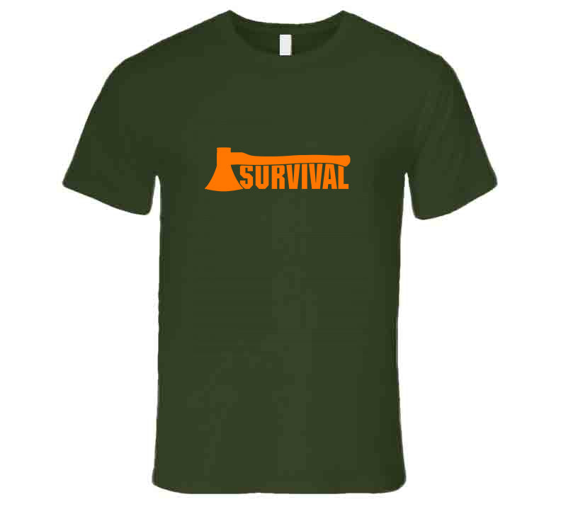 Axe Survival Outdoor Supply 2020 Nature Lover Gift T Shirt