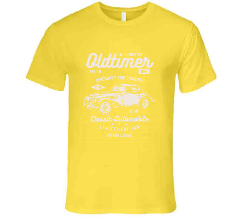 Oldtimer Oldies Classic Custom Car Vintage  T Shirt