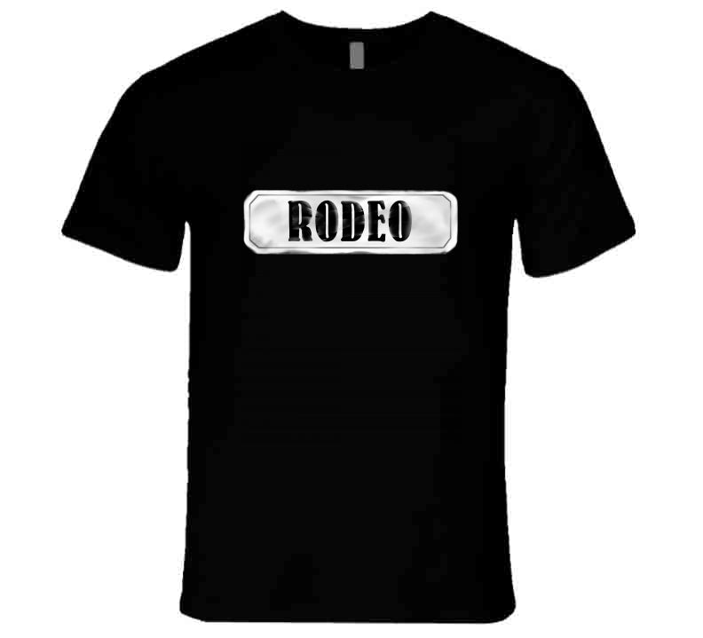 Rodeo Ranch Western Life Cow Horse Love Black Gift T Shirt