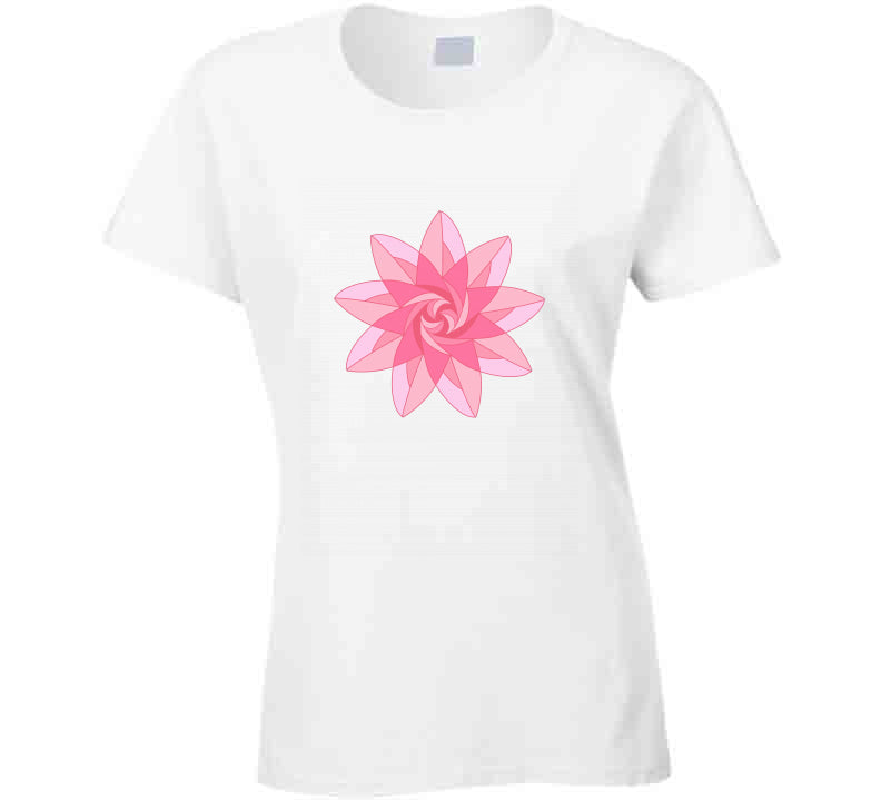 Pink Flower Yoga Meditation Home Lover Adriene 2020 Gift T Shirt
