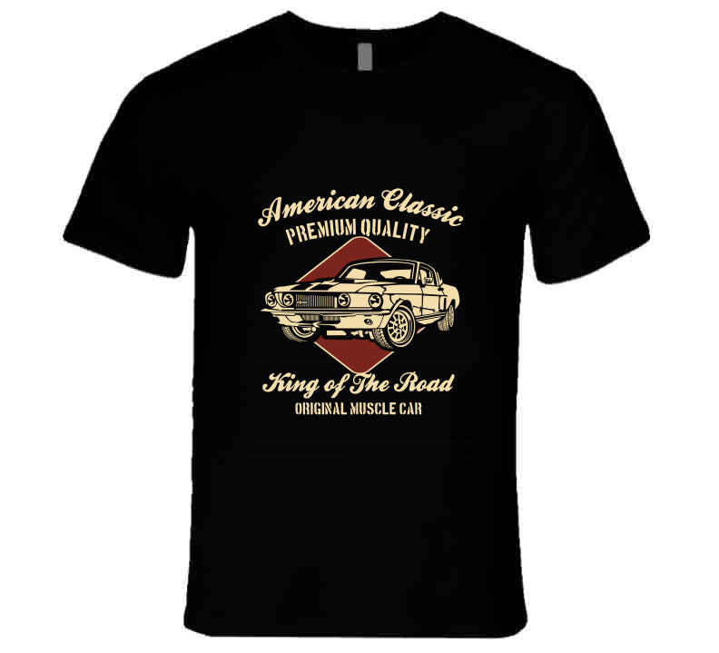 American Classic Muscle Car King Of The Road Gift T Shirt