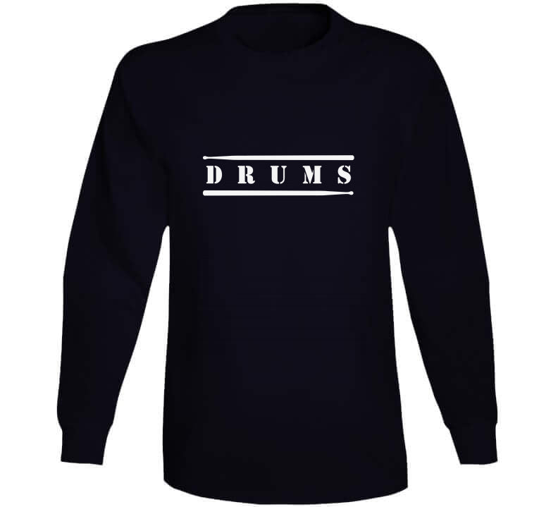 Drums Drummer Music Player Drumset Hue Drum Gift T Shirt