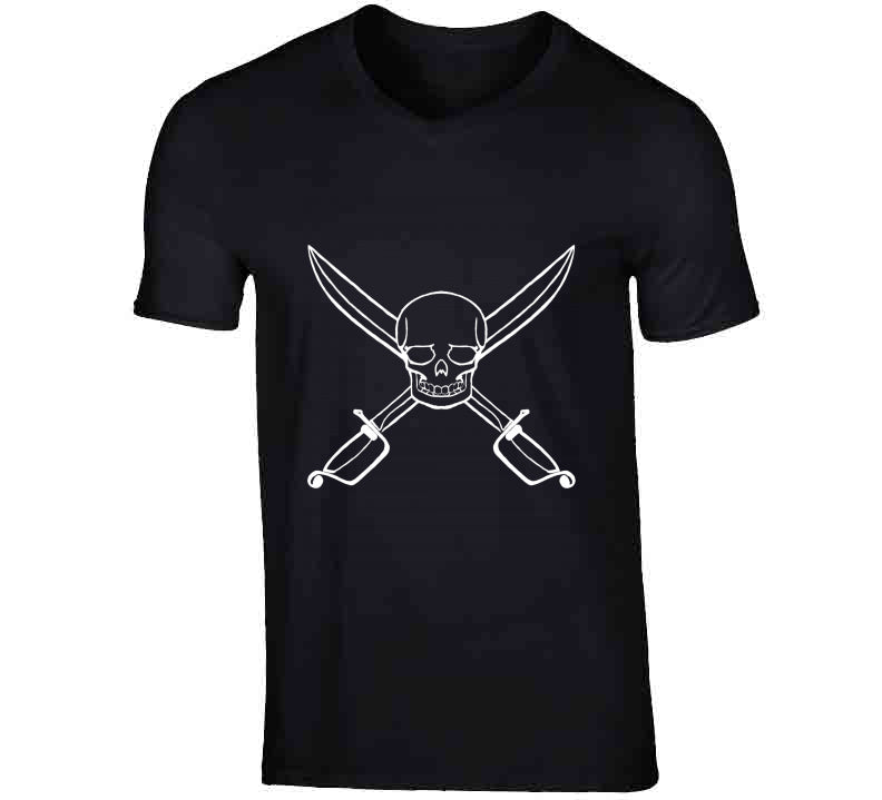 Pirate White Skull Theme Sailing Party Gift Tanktop