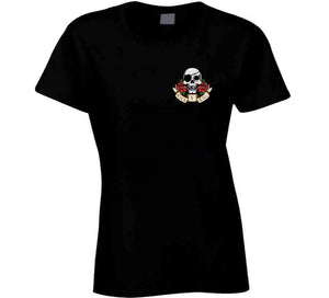 Rock N Roll Tattoo Pirate Skull Small Gift T Shirt