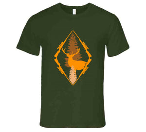 Hunting Triangle Deer Rifle Nature Hunter Hunt Wear Clothing Gift T Shirt