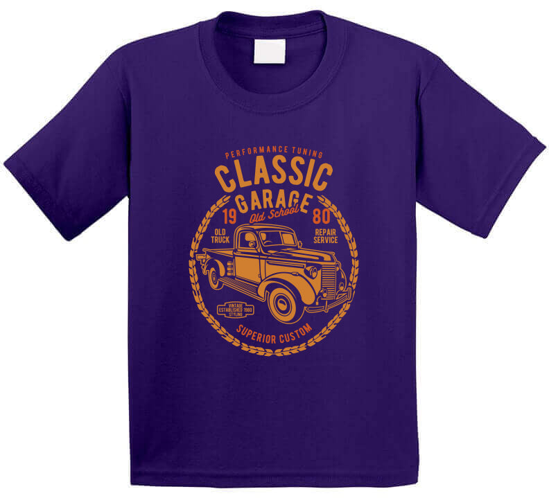 Classic Garage Old School Custom Cars Truck Gift T Shirt