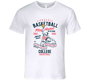Basketball Lakers Nba Play Hard Gift T Shirt