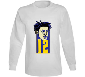 Morant Basketball College Player Fan Gift T Shirt