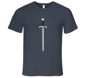 Sword Middle Ages Knights Fan Love Gift T Shirt