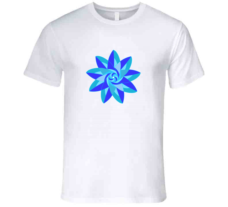 Blue Flower Meditation Yoga Lover Gift Adriene Crz Home Tanktop
