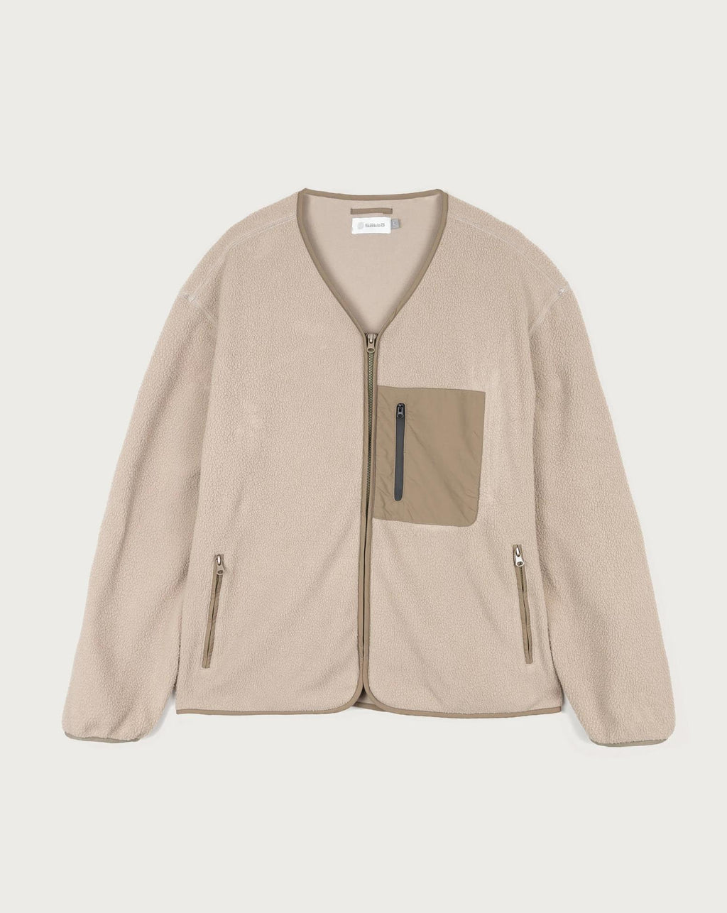 Mikah Fleece - Pebble Beige