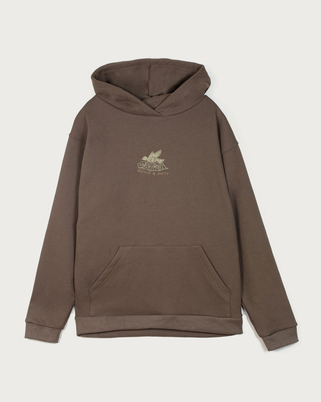 Dove Hood - Warm Grey
