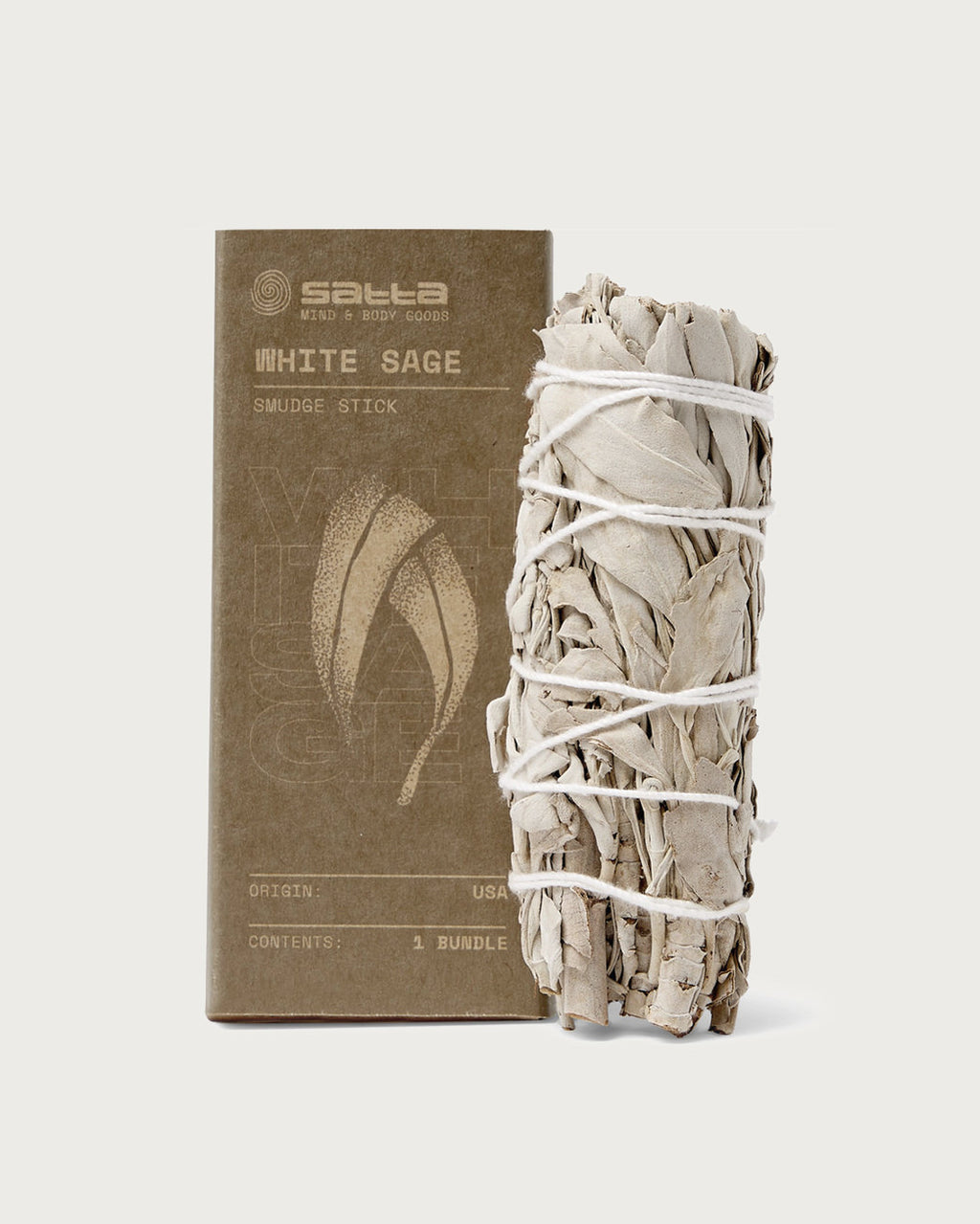 Satta White Sage Incense - Smudge Stick | SATTA