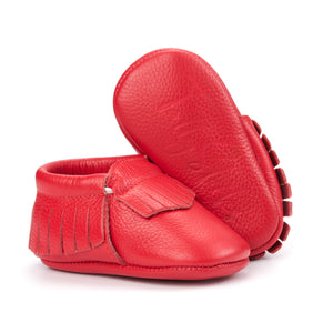 Red Baby Moccasins
