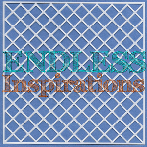 Endless Inspirations Original Stencil, 6 x 6 Inch, Lattice 2 - Redbird Inspirations