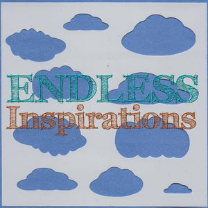 Endless Inspirations Original Stencil, 6 x 6 inch, Oh Cloudy Day - Redbird Inspirations