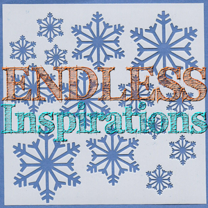 Endless Inspirations Original Stencil, 6 x 6 Inch, Snowflakes - Redbird Inspirations