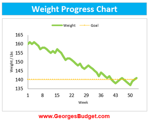 Excel Weight Tracker Template
