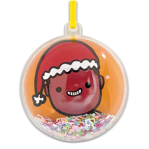 Personalised Christmas bauble - one person