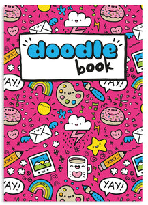 Doodle book A5 blank notebook