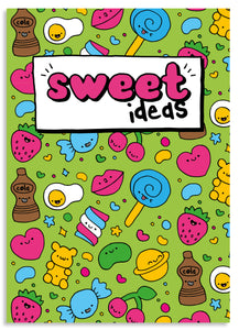 Sweet ideas A5 blank notebook