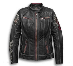 Harley Davidson Women's Cant Leather Jacket