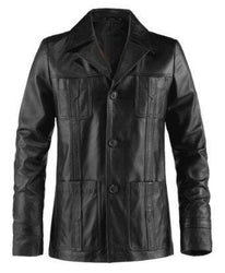 Puffer Men Leather Coats - Xosack