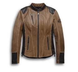 Harley Davidson Women's H-D® Triple Vent System™ Gallun Leather Jacket