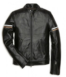Slimfit Men Classic Leather Jackets - Xosack