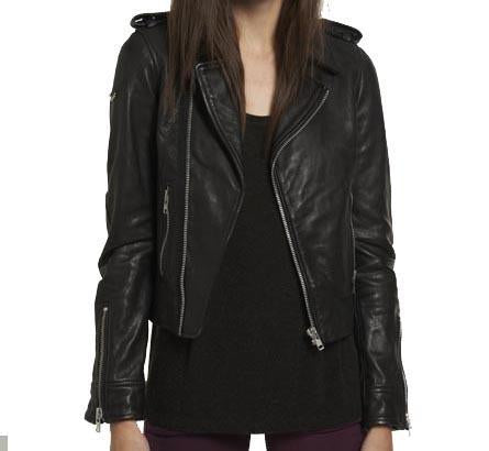 Winik Women Classic Leather Jackets - Xosack