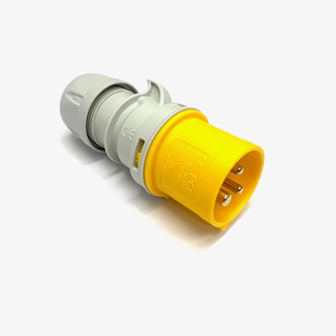 Festoon - 110V Site - Fit 16A 110V Plug (PCE Yellow)
