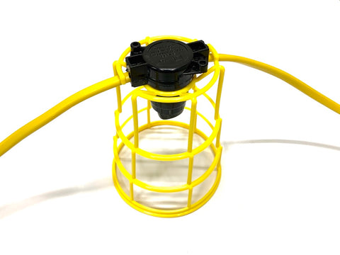Festoon - 110V Site - Lamp Guard - Yellow