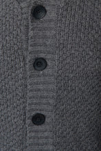 Load image into Gallery viewer, Chunky Jumper Knitwear Shawl Collar Cardigan Loose Fit Grey