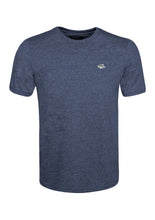 Load image into Gallery viewer, CREW NECK T SHIRT - JERSEY MARL - NAVY