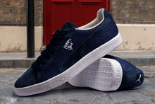 Load image into Gallery viewer, PUMA CLYDE SUEDE MADE IN JAPAN PEACOAT BLUE