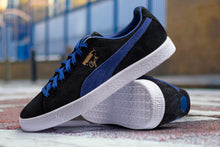 Load image into Gallery viewer, PUMA CLYDE BLACK/ ELECTRIC BLUE