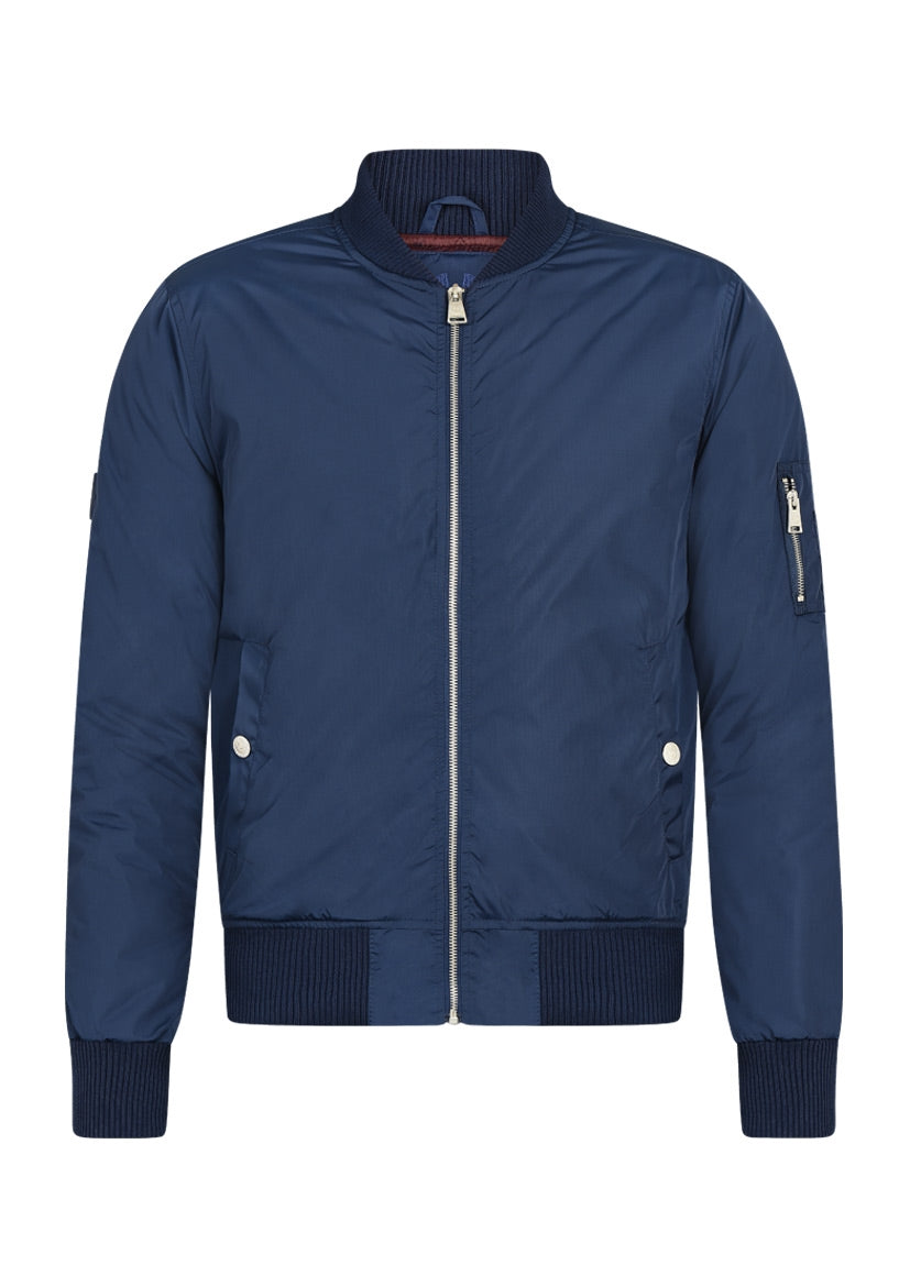 nylon ma1 aviator jacket