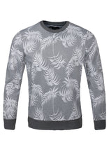 Load image into Gallery viewer, Crew Neck Floral Design Top