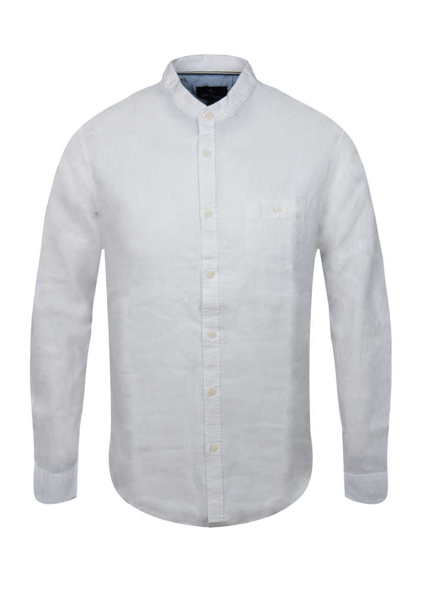 Linen Mix Shirt Long Sleeve