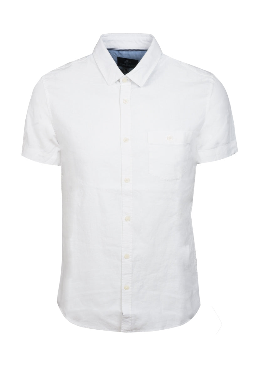 Linen Mix Shirt Short Sleeve