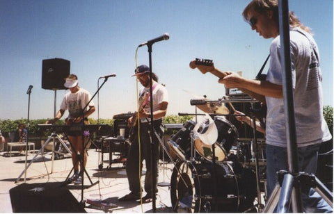 Severe Tire Damage Band performing onstage