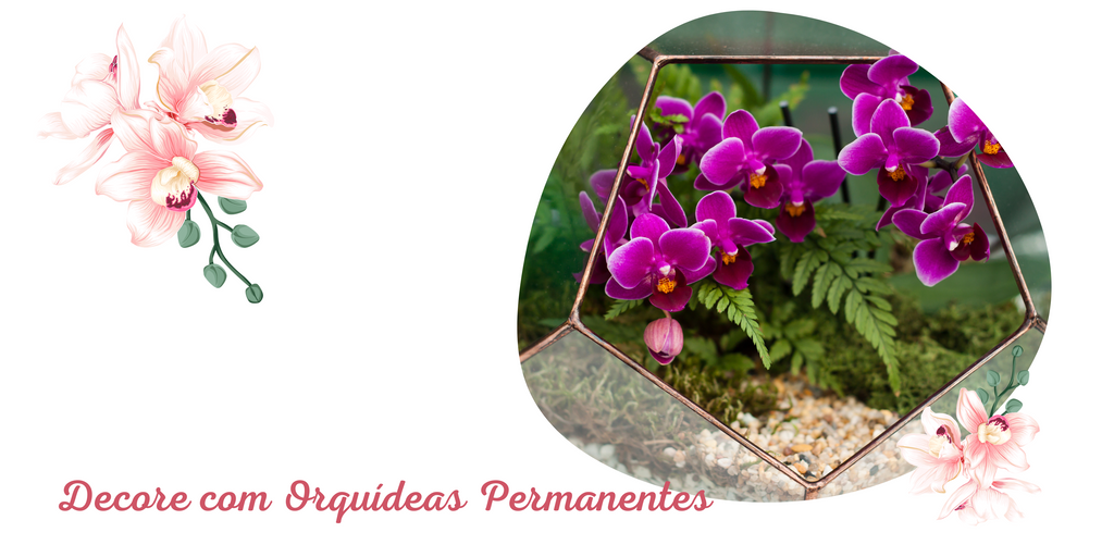 Como decorar com orquídeas permanentes